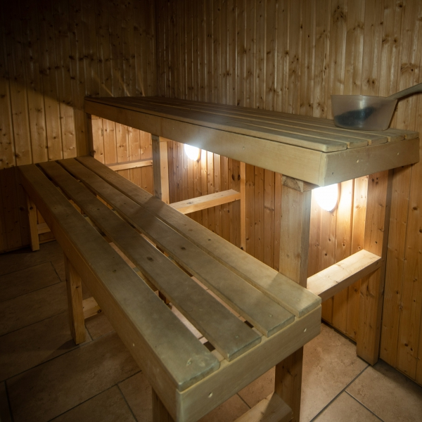 Sauna at Kidron House Hotel, Irvine, Ayrshire